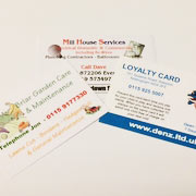 BUSINESS CARDS – DIGITALLY PRINTED