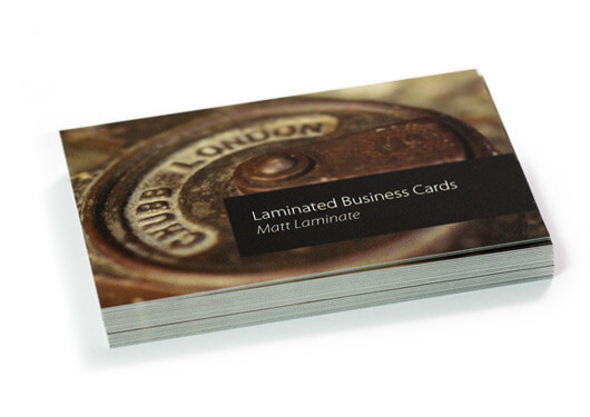 400GSM PREMIUM MATT LAMINATED CARDS